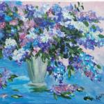 lilacs in blue 2