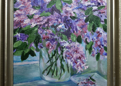 Mason Jar Lilacs 2