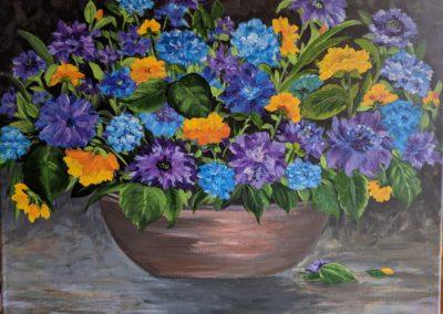 Flower Garden Still Life